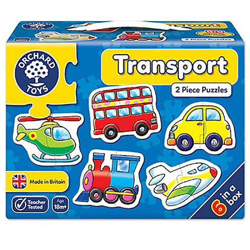 Orchard Toys - Transport Jigsaw Puzzle