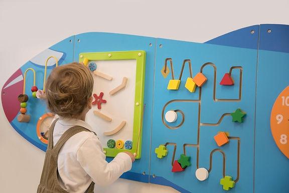Viga Aeroplane Activity Wall Panels