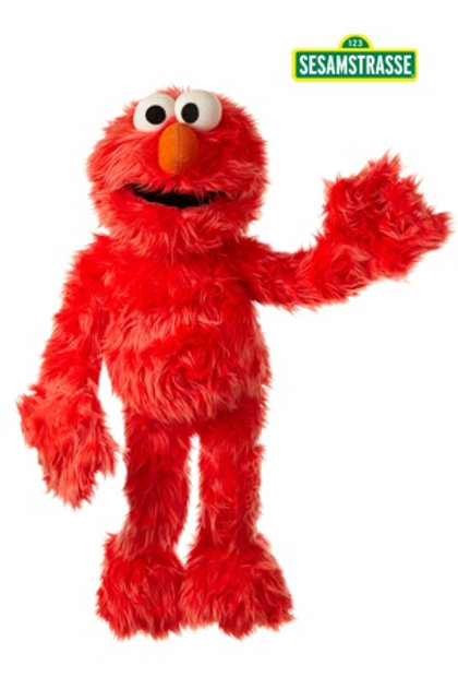 Living Puppets 45cm Elmo - Sesame Street