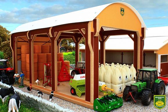 8975 Hay Barn - Dutch Style