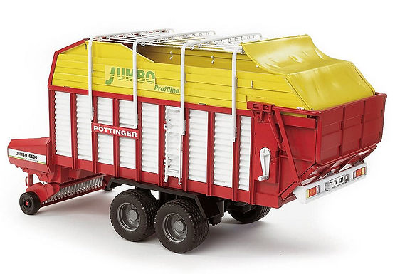 Pottinger Jumbo 6600 Profiline Forage trailer