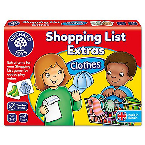 Orchard Toys - Shopping List Extras – Clothes