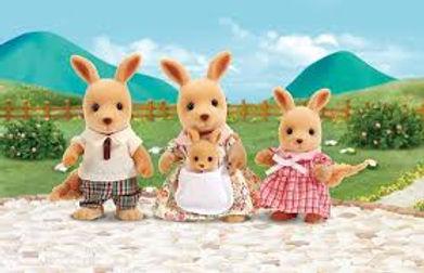 Sylvanian's Kangaroo Family