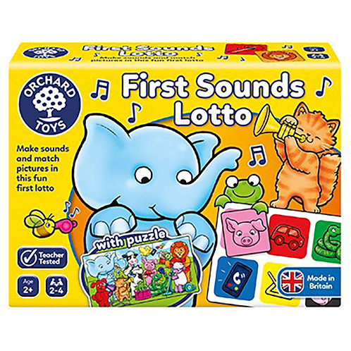 Orchard Toys - First Sounds Lotto Game
