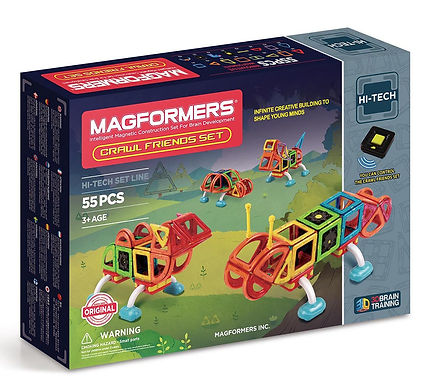 Magformers Crawl Friends