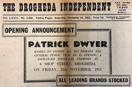 1953 Newspaper
