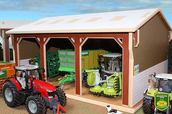 Brushwood Tractor Shed