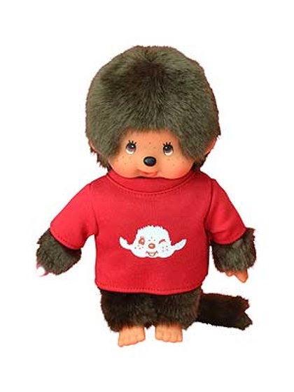 MONCHHICHI 20 cm Boy with T-shirt Red