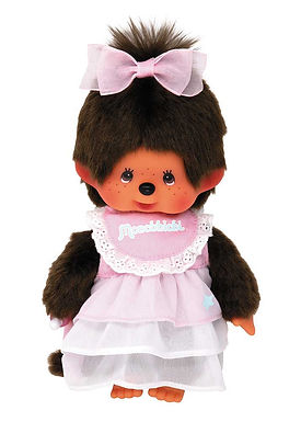 MONCHHICHI 20 cm Girl Pink Dress