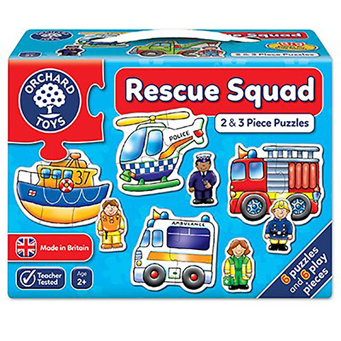 Orchard Toys - Rescue Squad Jigsaw Puzzle