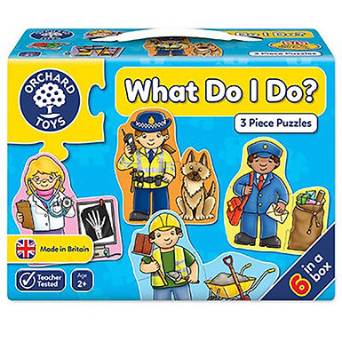 Orchard Toys - What Do I Do Jigsaw Puzzle