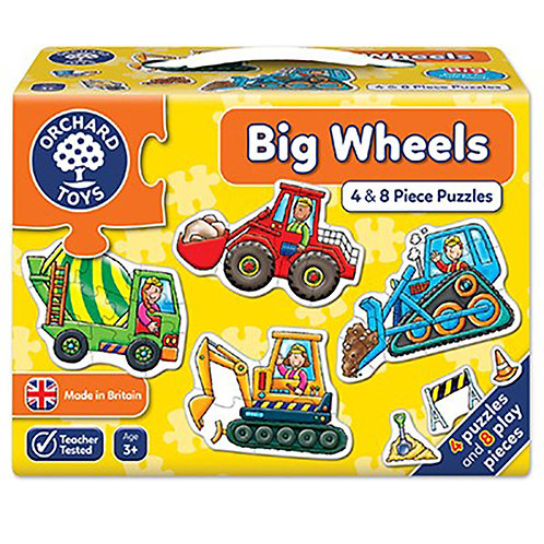 Orchard Toys - Big Wheels Jigsaw Puzzle