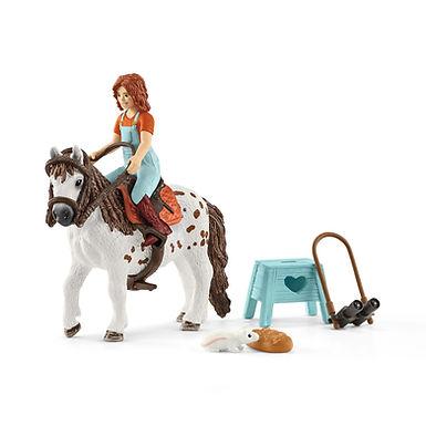 SCHLEICH 42518 HORSE CLUB MIA & SPOTTY