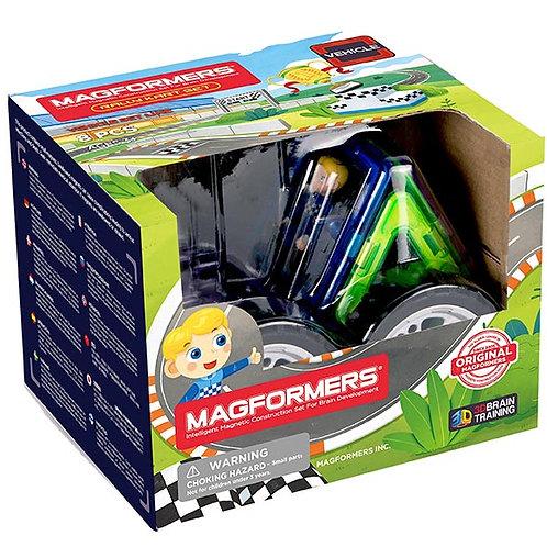 Magformers Rally Kart Boy Racer