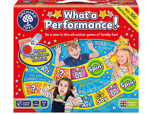 Orchard Toys -  What a Performance Board Game