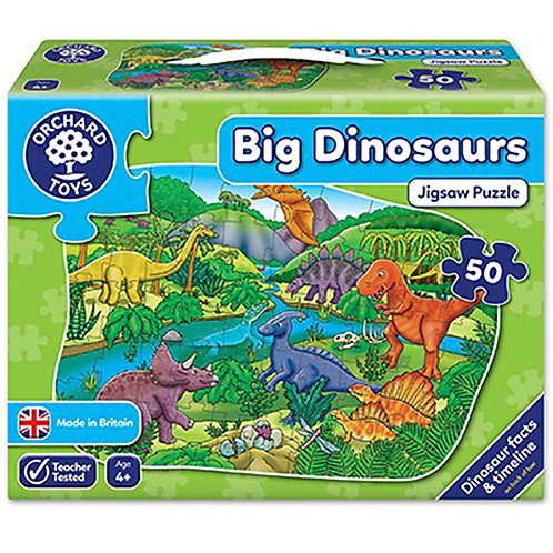 Orchard Toys - Big Dinosaurs Jigsaw Puzzle