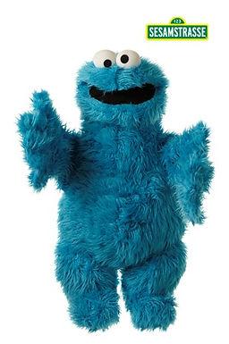 Living Puppets 45cm Cookie Monster - Sesame Street