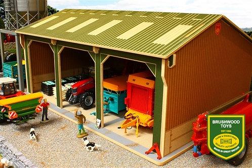 BBB150 Big Brushwood Basics Open Barn - 3 Bays