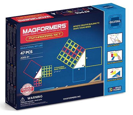 Magformers Magnetic Pythagoras Maths Set