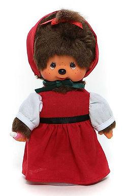 MONCHHICHI 20 cm Girl Little Red Riding Hood