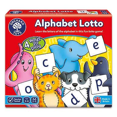 Orchard Toys -  Alphabet Lotto Game
