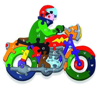 Alphabet Motorbike