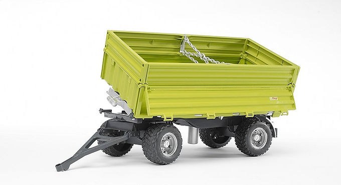 Bruder Fliegl Three way dumper with removeable top