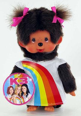 MONCHHICHI 20 cm Girl K3 Rainbow Dress