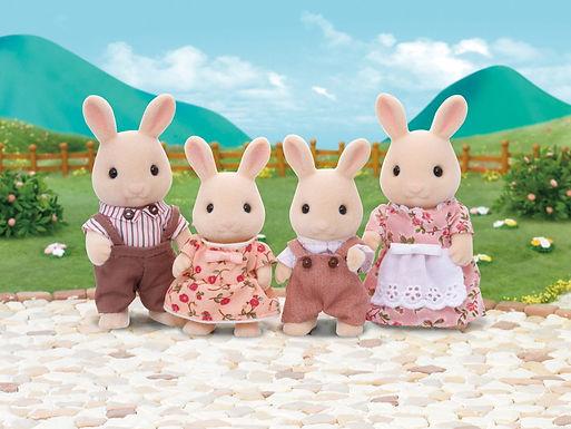 4108 Milk Rabbit Family