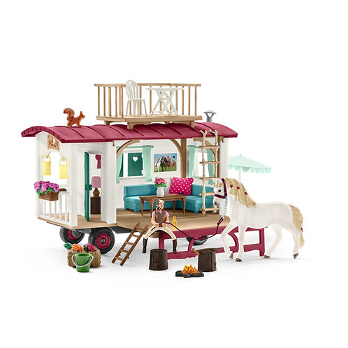 SCHLEICH 42415 CARAVAN FOR SECRET CLUB MEETINGS