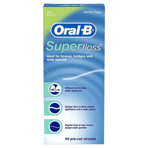 Oral B Superfloss (50 pre - cut strands)