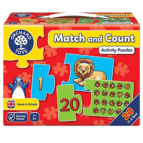 Orchard Toys - Match and Count Jigsaw Puzzle