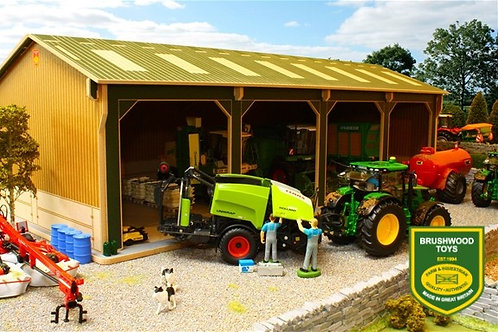 BBB 160 Big Brushwood Basics Open Barn - 4 Bays