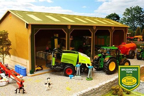 Big Brushwood Basics Open Barn - 4 Bays