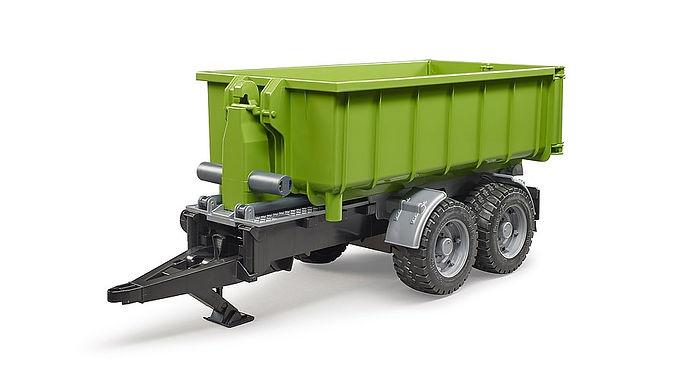 Hook lift trailer for tractors