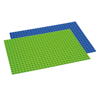 Hubelino 20×28 Baseplate Blue