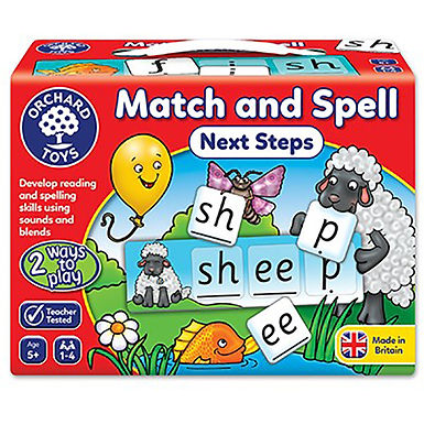Orchard Toys - Match and Spell Next Steps Game
