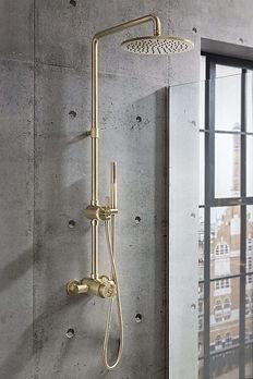 Union Brass Shower