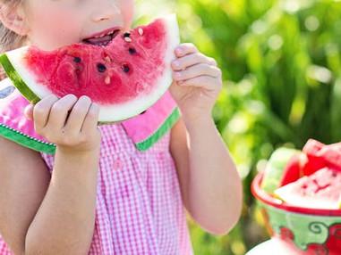 Healthy snacking for children's dental health