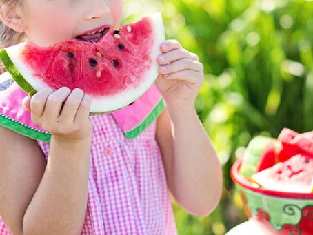 Healthy snacking for children's dental health