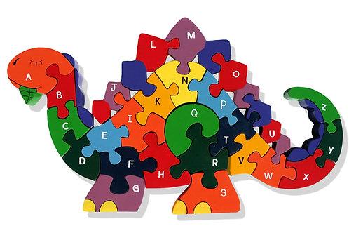Alphabet Jigsaws Alphabet Dinosaur