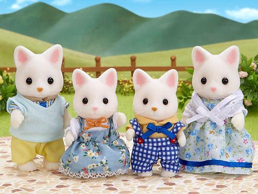 Sylvanian Families Silk Cat Family