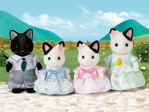 5181 Tuxedo Cat Family