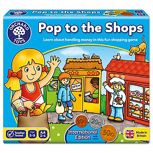 Orchard Toys - Pop to the Shops International Board Game