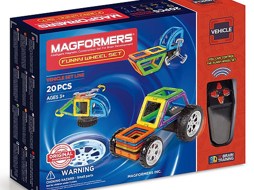 Magformers Funny Wheel Set