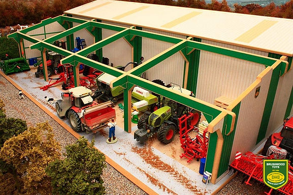 Brushwood Euro5 Extension To Euro Tractor Shed