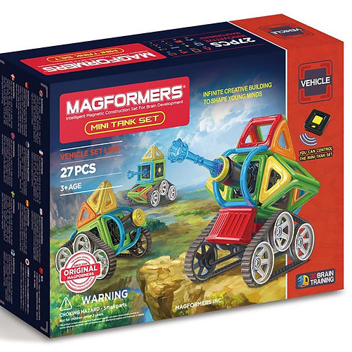 Magformers Mini Tank Set