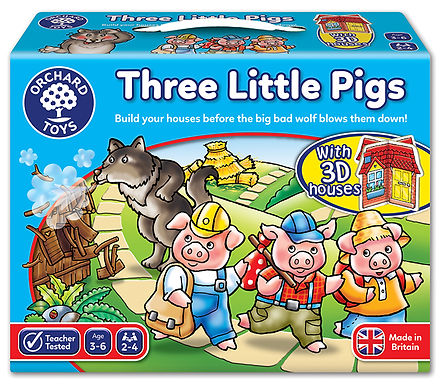 Orchard Toys - Three Little Pigs Board Game