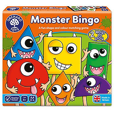 Orchard Toys -  Monster Bingo Game