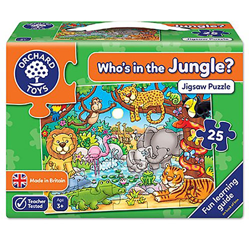 Orchard Toys - Who's in the Jungle Jigsaw